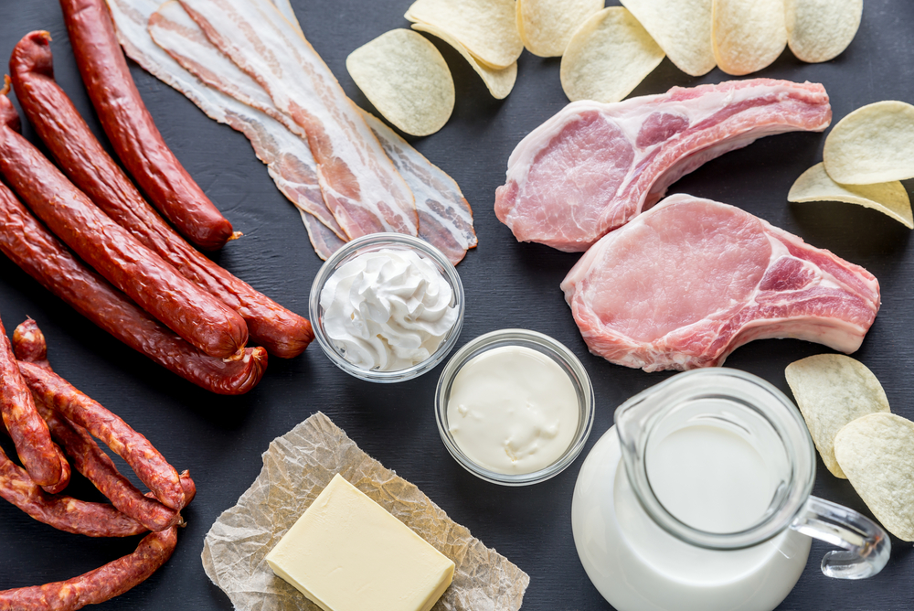 動物性脂肪は飽和脂肪酸が豊富