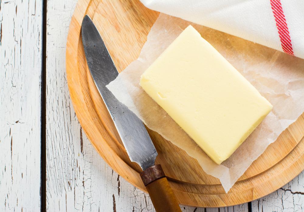 飽和脂肪酸たっぷりのバター